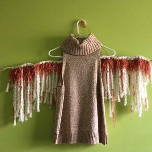 ✨nwt!!✨ madewell • knit sleeveless turtleneck